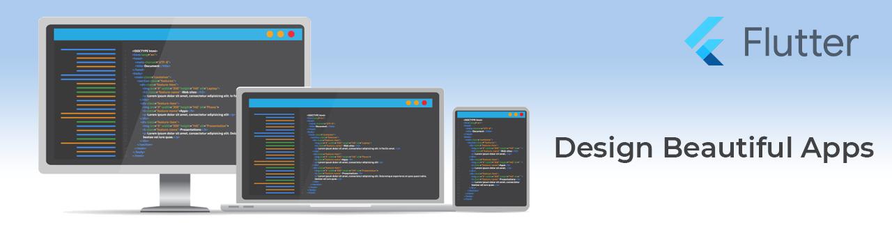 Flutter Application Development - Design Beautiful Apps