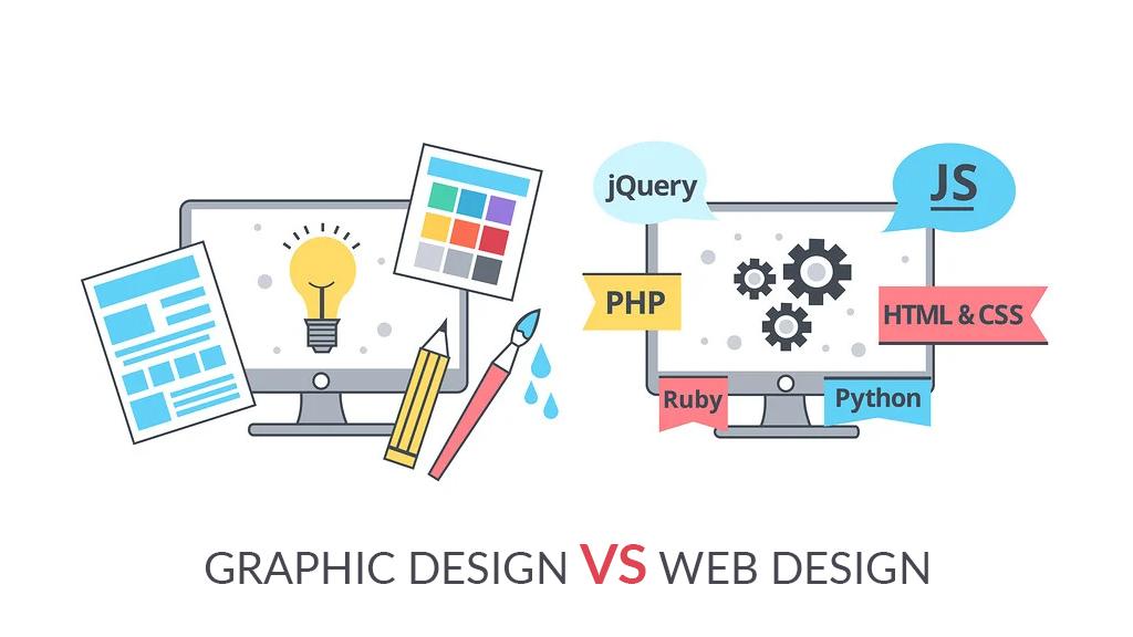 Graphic Design vs Web Design