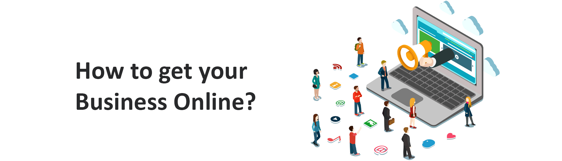How to get your Business Online? - Digital Marketing Services - Premware