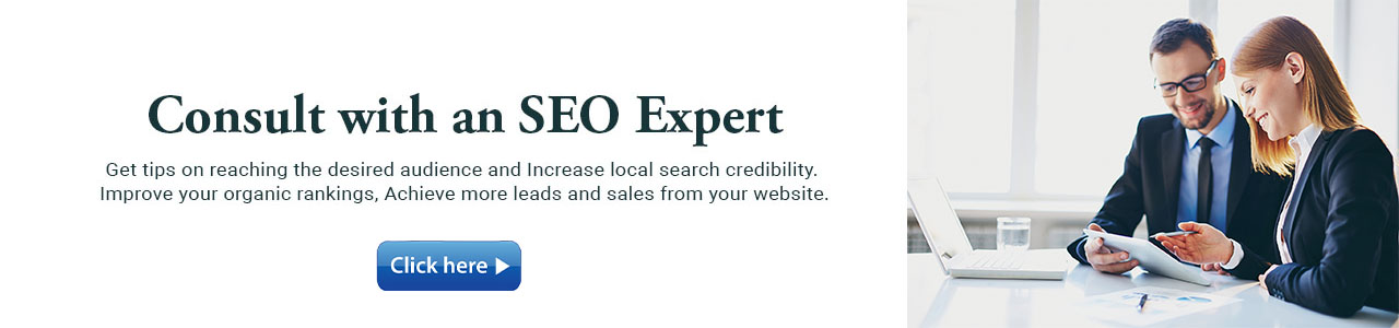 Consult with an SEO Expert