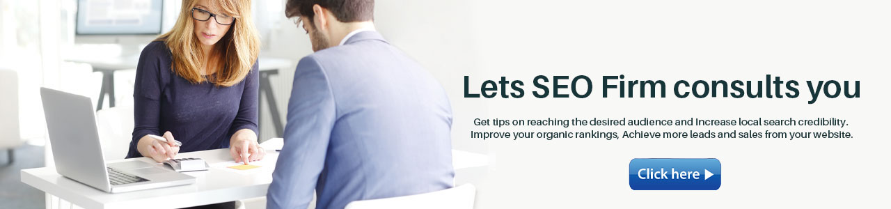 Lets SEO Firm consults you